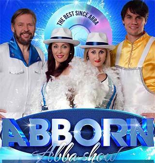 Знаменитый трибьют ABBA, шоу ABBORN отмечает свой юбилей.