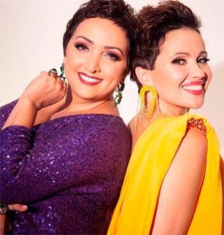 Этери Бериашвили и Лиана Майстер в шоу «Мазл тов!»