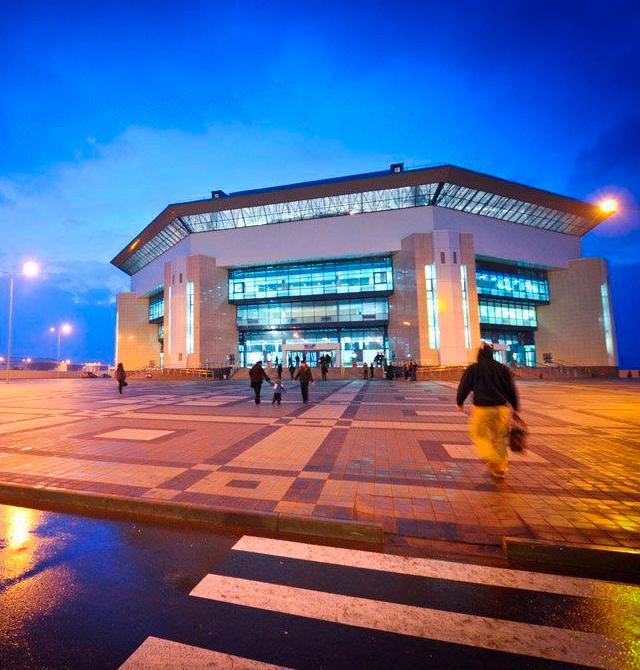 Cпортивный комплекс Баскет-Холл