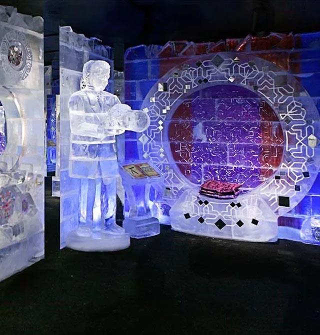 Ледяная галерея «Калейдоскоп»