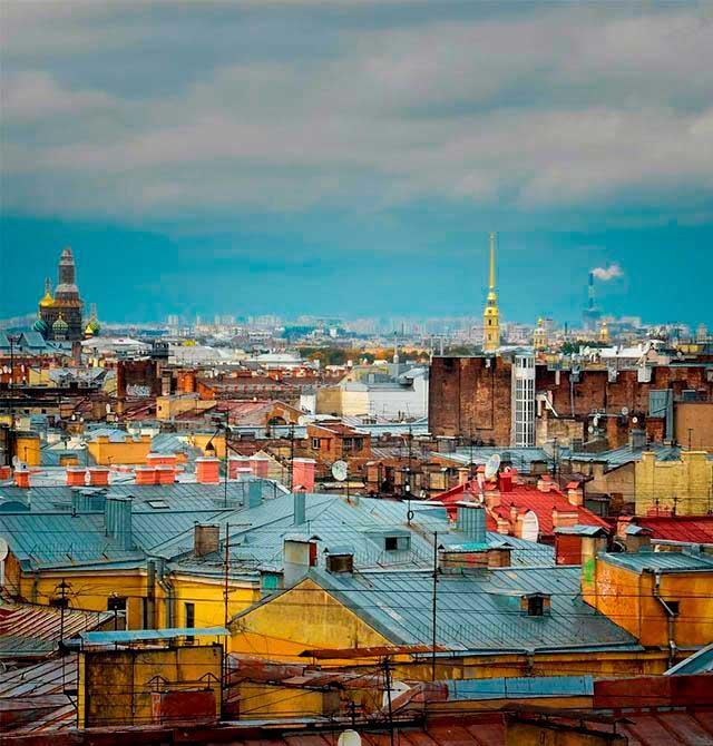Крыша на Лиговском пр 65